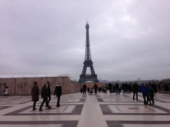 หอไอเฟล รู้สึกว่าไม่มาไม่ได้ มาปารีสทีไรก็ต้องมา
