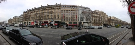 ถนน Champs-Élysées