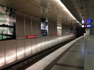 ถึงแล้ววว สถานี Feldmoching สถานีแห่งความหลัง