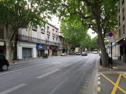 สภาพตัวเมืองแถบรอบๆใจกลางเมือง Aix-en-Provence