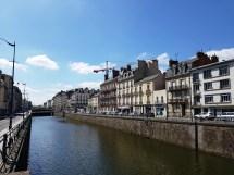 ตัวใจกลางเมือง Rennes ริมแม่น้ำ La Vilaine