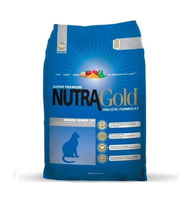 nutra gold gato senior