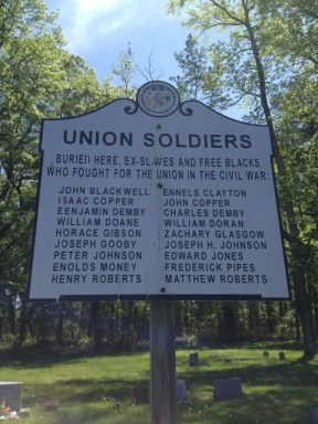 The Veterans of Unionville Cemetery