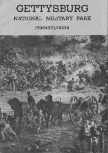 Cover of the 1961 Gettysburg NMP Brochure.