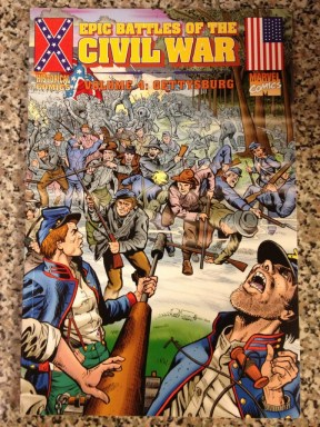 Marvel Comics' Gettysburg issue.