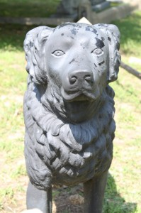 A head-on view of the Black Iron Dog. Photo by John Dolan.