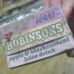 87 Robinsons carton - Expired many years ago