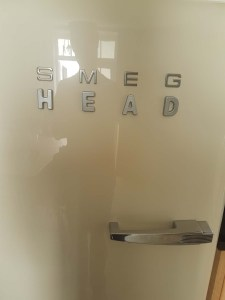 The silver letter result - Smeg head