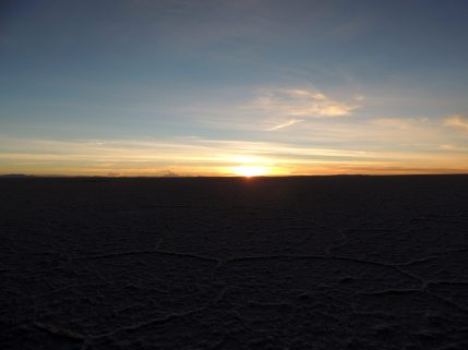 Sunrise at Uyuni