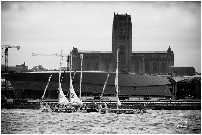 Clipper Race Start in Liverpool 2007