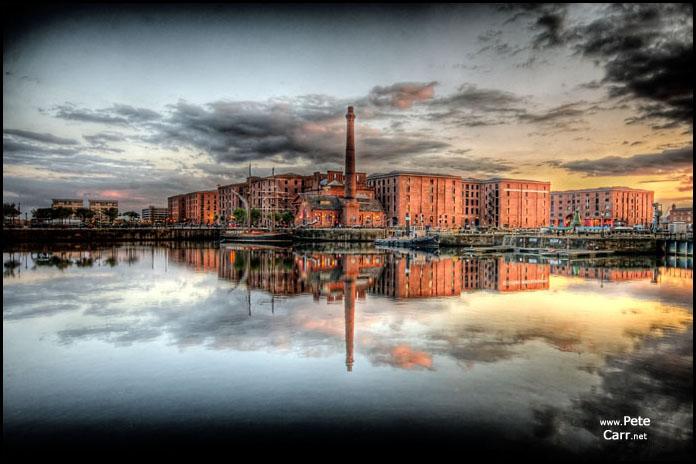 Albert Docks Reflected