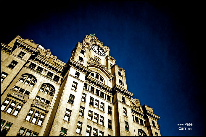 The Liver Building in full colour