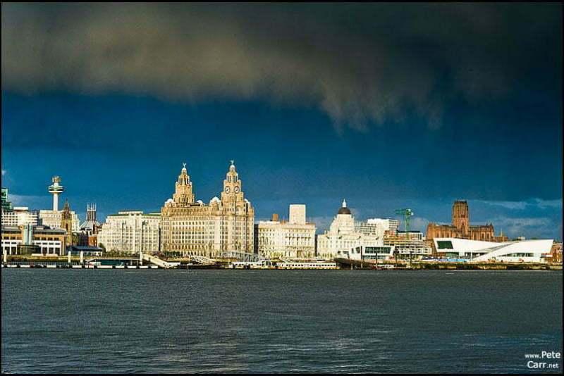 Modern Liverpool Waterfront