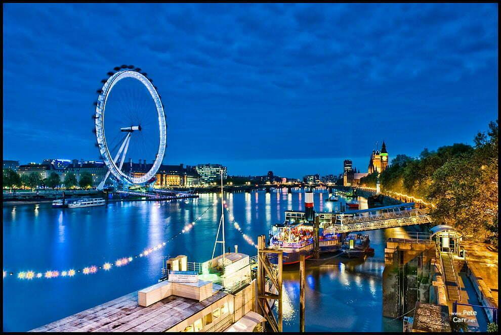 London Eye and Parliament - II