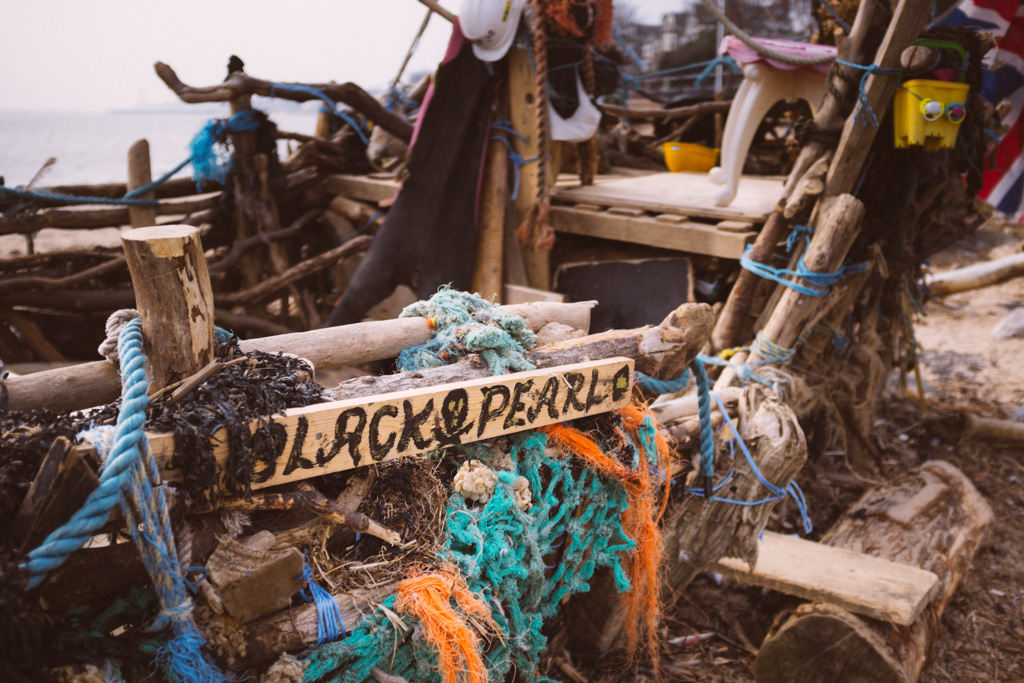 Black Pearl of New Brighton