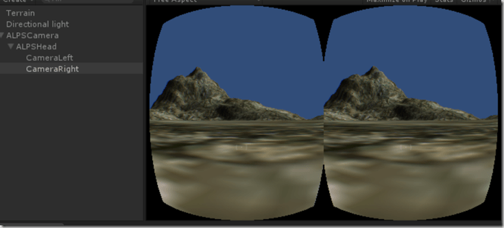 Windows Phone Mobile VR (Stereoscopic Rendering + Lens Distortion in