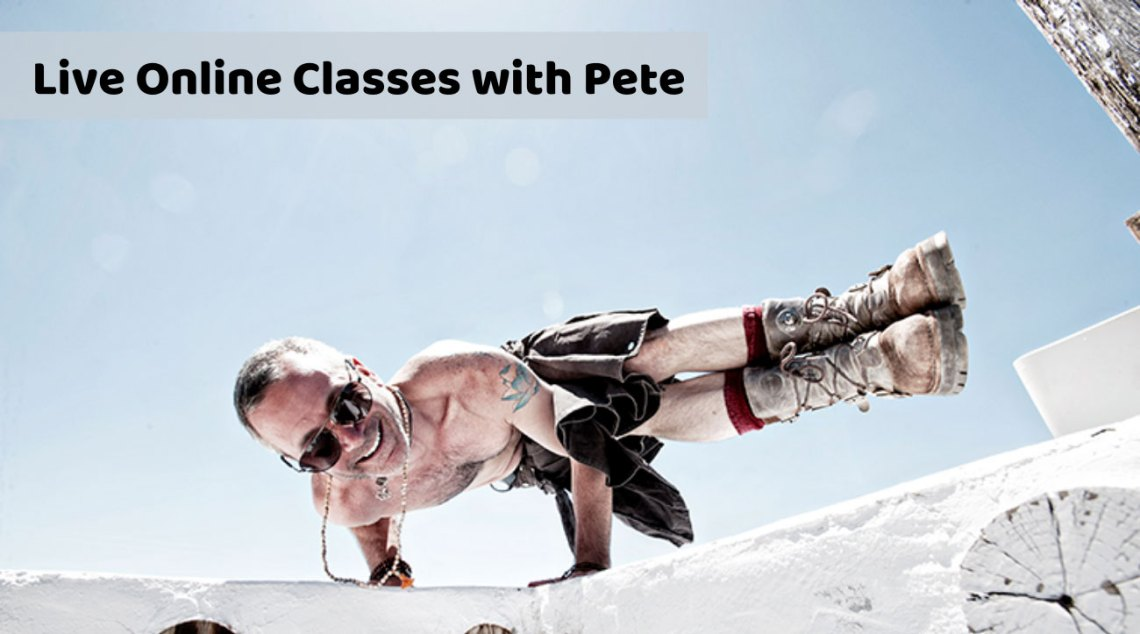 Pete G Yoga Classes Online