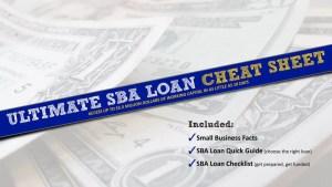 Ultimate SBA Loan Cheat Sheet