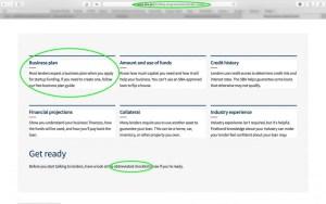 SBA Loan business plan