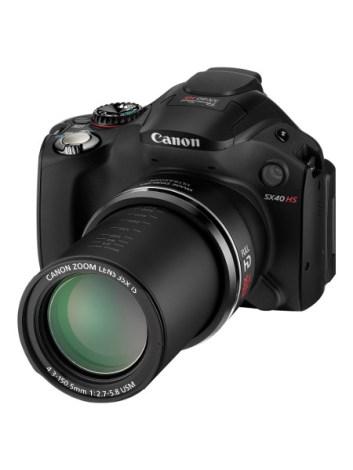 PowerShot SX40 HS Lens Extended