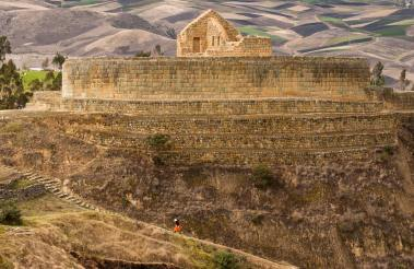 The most famous Inca ruins in Ecuador the Ingapica Ruins. Photo by travel photographer and conservation photographer Pete Oxford.