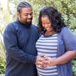 maternity photoshoot for work - Santa Barbara CA