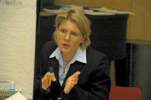 Monika Kil auf der LQ-Netzwerkkonferenz 2008