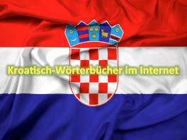 Kroatische Fahne