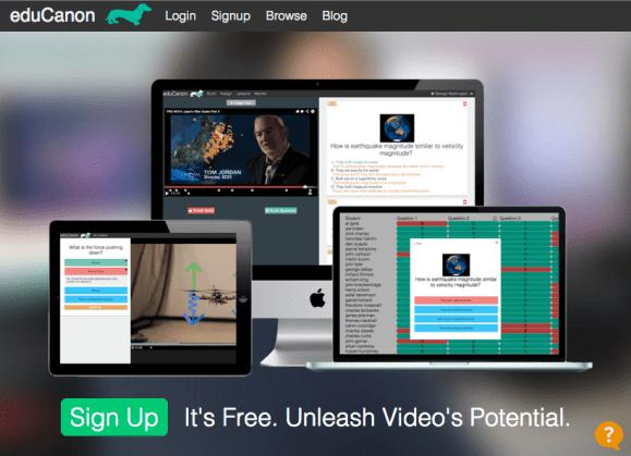 eduCanon Homepage