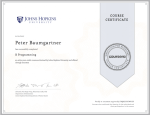 Coursera-Certificate-R-Programming
