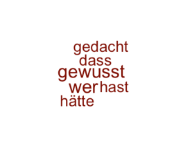 Wordcloud @wolfgangrauter