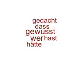 Wordcloud @wolfgangrauter
