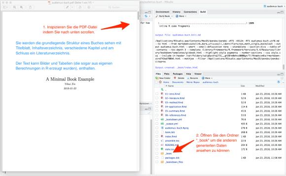 screenshot: Die PDF-Datei ansehen