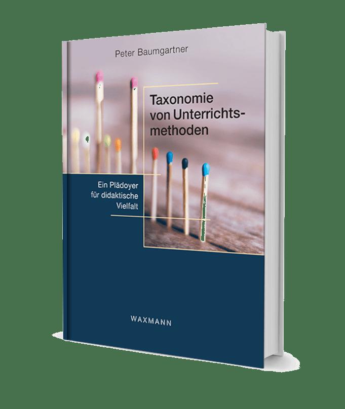 """Das Buchcover von """"Taxonomie von Unterrichtsmethoden"""" als theoretischer Hintergrund für den Beitrag """"H5P als Plädoyer für didaktische Vielfalt"""""""