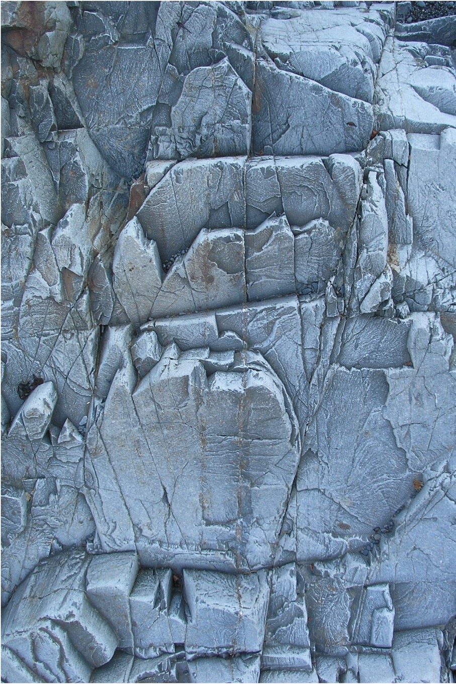 Nevelson In Stone, Quoddy Head, Maine
