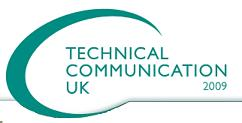 Technical Communication UK 2009