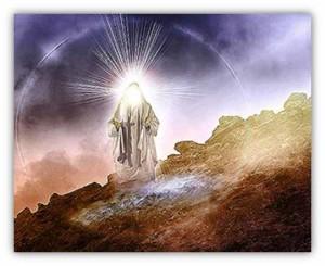 God on mountain top