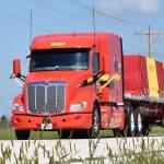 Decker Truck Line Peterbilt Model 579 flatbed