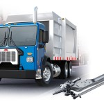 PACCAR steel axel available on the Model 520