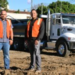 Junior Pineda (left) and Jose Aceituno (right) from TEC companies