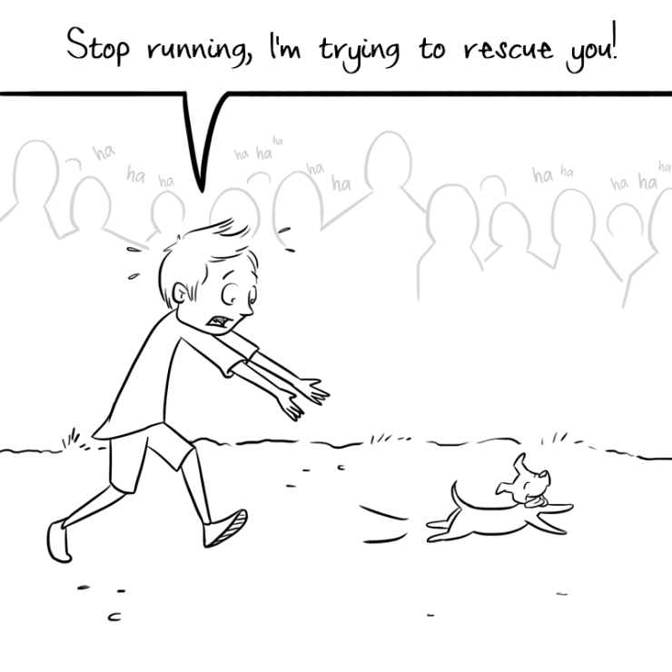 chasing-the-puppy