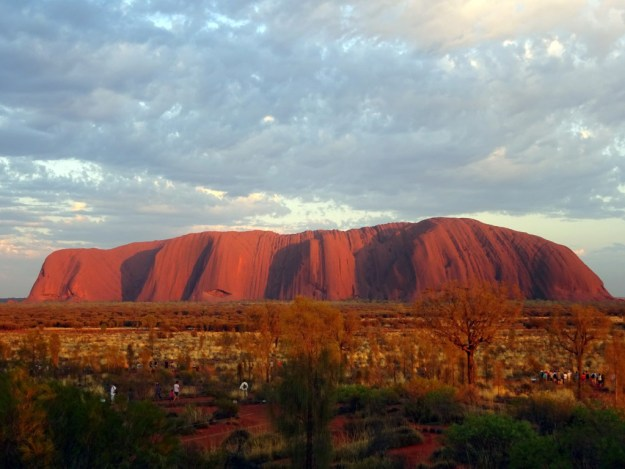 Uluru during the morning
