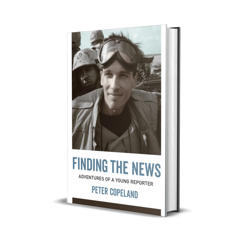 Finding the News Book Cover