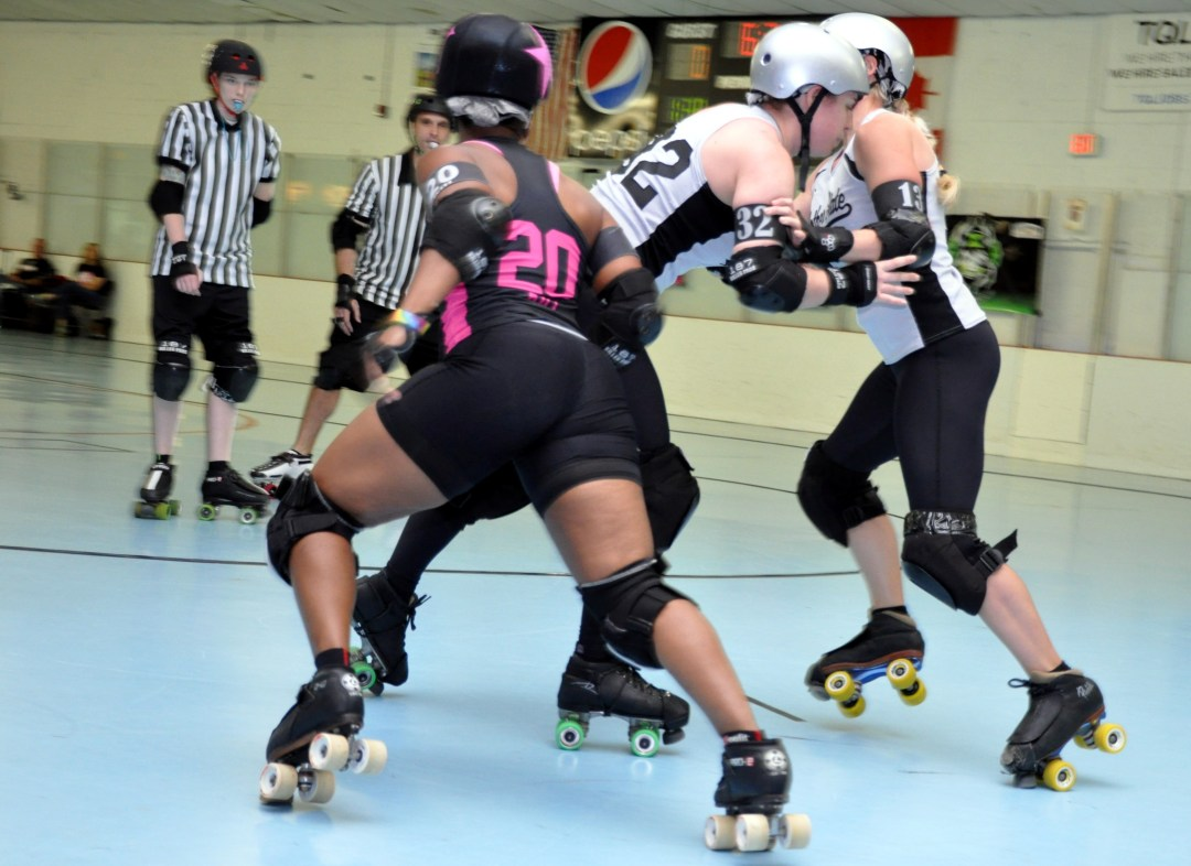 Laryn Kill Playing Roller Derby