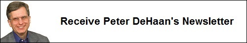 Peter DeHaan newsletter sign-up