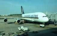 God morgen fra Changi airport Singapore