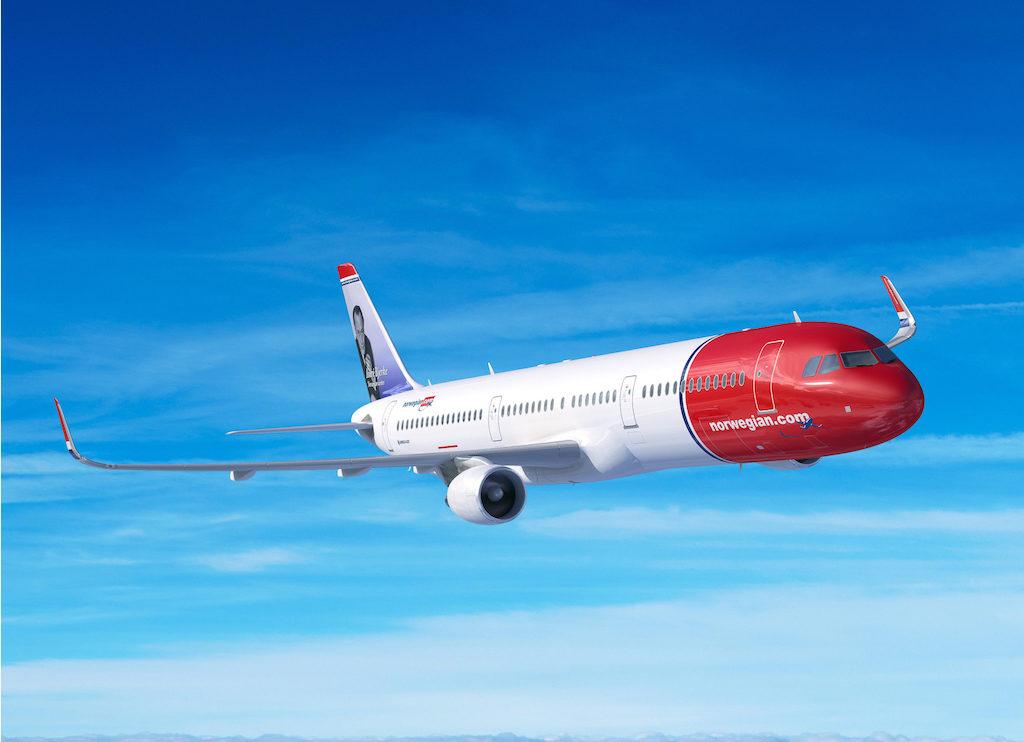 passasjervekst i mai gratulerer med dagen storbyferie dekke alle rutene Norwegian med passasjervekst
