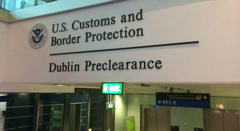 innreisekontroll US Border Protection preclearance