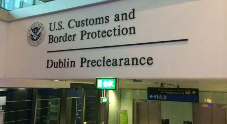 innreisekontroll US Border Protection preclearance