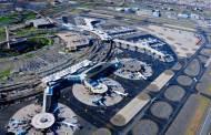 Faren over ved flyplassterminal ved Newark